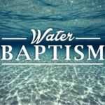 The Apostle Paul On Water Baptism